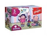 Bella Baby Happy Windeln, Big Pack, Größe 5 (Junior), 12-25 kg, (1 x 116 Windeln) -