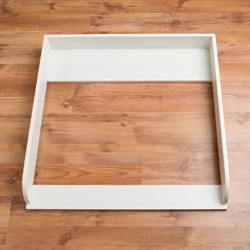 Extra Rundkante M! Wickelaufsatz, Wickeltischaufsatz für IKEA Malm Kommode -