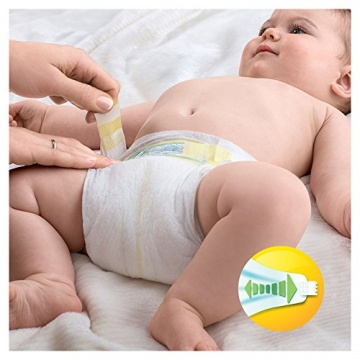 Pampers Premium Protection New Baby Gr. 1 (Newborn), 2–5 kg Halbmonatsbox, 72 Windeln -