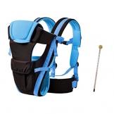 Set Baby Tragetasche Maxi-Meine-Welt-blau und Babyflaschenthermometer 5461 -