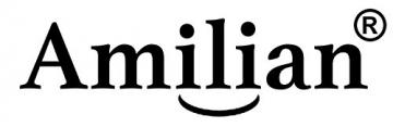Amilian® STILLKISSEN MEGA WEICH mit Stickerei Lagerungskissen Seitenschläferkissen ink.Bezug 170cm NEU XXL X10(Elefant-Sternchen grau) -
