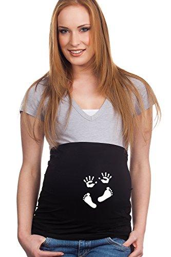 Bauchband Baby Händchen und Füßchen -