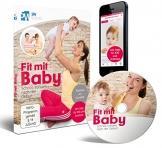 Fit mit Baby - Schnell schlank nach der Geburt (Rückbildungsgymnastik mit Baby) ++ Jetzt mit App ++ Trainiere wo du willst ++ -