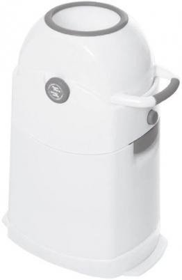 Geruchsdichter Windeleimer Diaper Champ regular silber - für normale Müllbeutel -