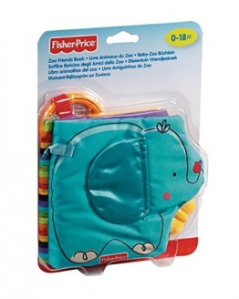 Mattel Fisher-Price T9239 - Baby-Zoo Büchlein -