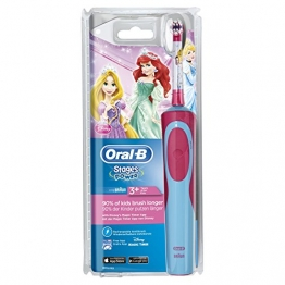 Oral-B Stages Power Elektrische Zahnbürste für Kinder (Motiv Disney-Prinzessinnen) -