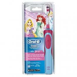 Oral-B Stages Power Elektrische Zahnbürste für Kinder (Motiv Disney-Prinzessinnen) -