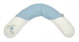 Theraline Stillkissen mit Mikroperlen Esel blau -