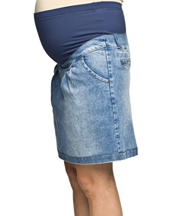 Umstandsrock, Schwangerschaftsrock SUZI, Jeansrock für Schwangere von Torelle, hochwertige Baumwolle! Jeans M -