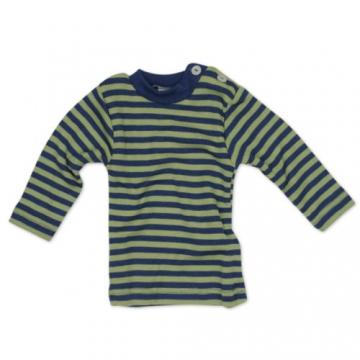 Engel Naturtextilien Baby Shirt Merinoschurwolle / Seide 725110-163 kirschrot orange Gr. 74 / 80 -