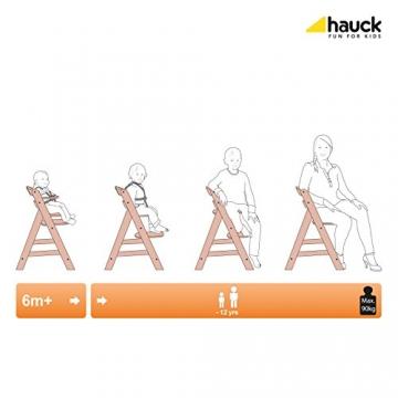 Hauck 661086 Hochstuhl Alpha +, weiß-natur -