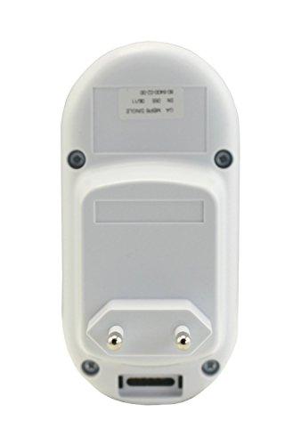 Motorola MBP 8 - Digitales Audio Babyphone mit DECT-Technologie und bis zu 50 Meter Reichweite, weiß -