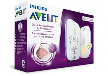 Philips Avent SCD501/00 DECT Babyphone (Smart Eco Mode, Nachtlicht) -