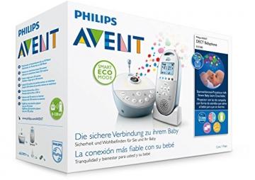 Philips Avent SCD580/00 Babyphone (Smart Eco Mode, Sternenhimmel-Projektor ) -