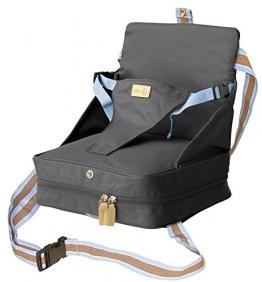 roba Boostersitz in blau mobiler aufblasbarer Kindersitz als Sitzerhöhung und Reisesitz, ideal als Hochstuhl für unterwegs für Babys und Kleinkinder -